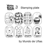 WINNIE THE POOH 3 stamping plate