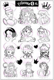 PRINCESS 4 XL stamping plate