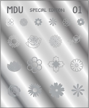 MDU SPECIAL EDITION 01  stamping plate