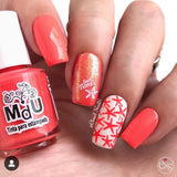 108. GRAPEFRUIT stamping polish - 5ML mini