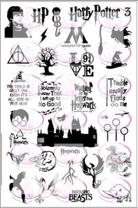 Harry Potter 3 Stamping plate