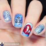 THE LITTLE Mermaid stamping plate