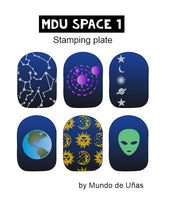 MdU Space 1 Stamping plate