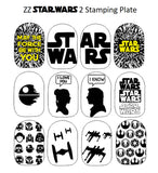 ZZ STAR WARS 2 stamping plate