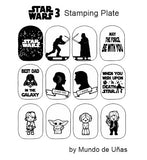 ZZ STAR WARS 3 stamping plate