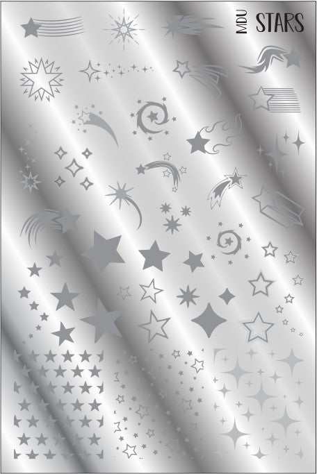 MdU STARS stamping plate