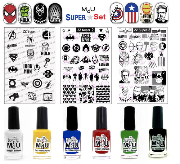 MdU SUPER stamping set