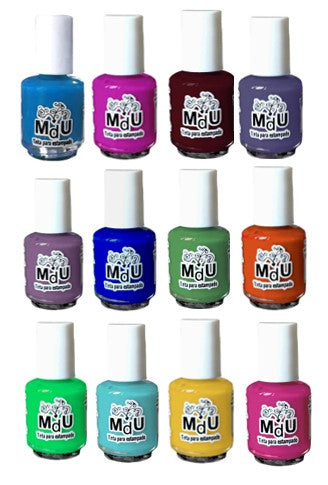 100 MINI stamping polishes!! - WHOLESALE