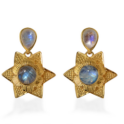 Lyra Moonstone Earrings