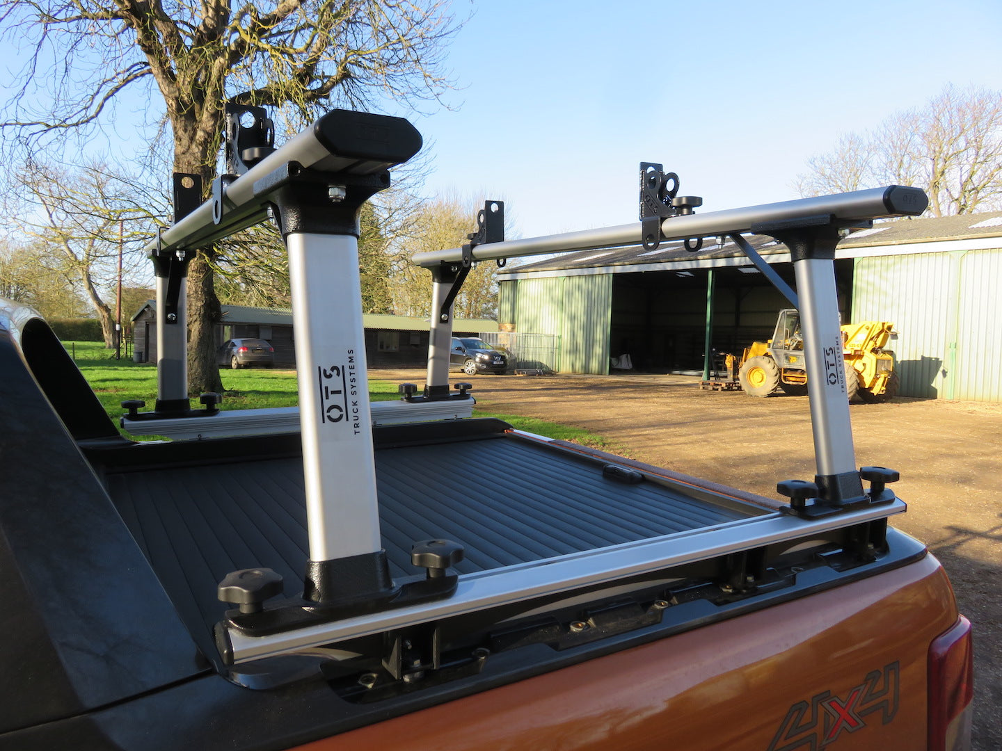 Overcab extended STACK 'A' RACK Wildtrak Edition