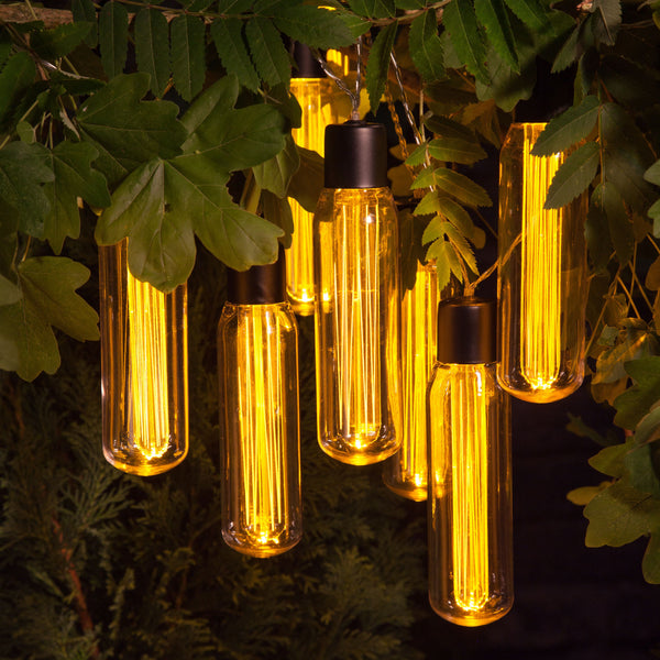 LED valve style string lights - battery