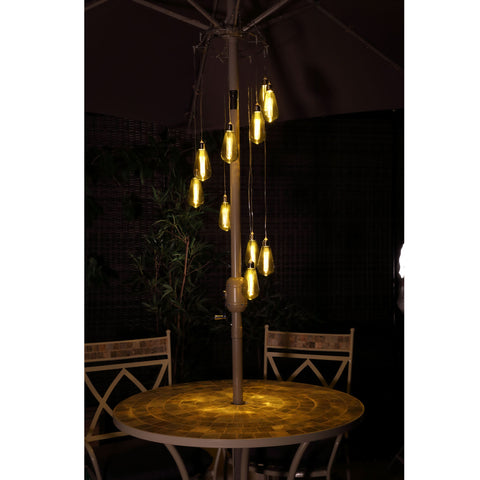 LED Bulb spiral chandelier parasol lights - battery