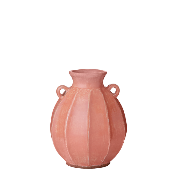 Vital vase with handles peach