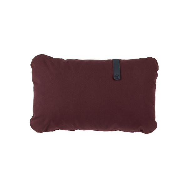 Colour mix cushion burgundy 68 x 44 cm