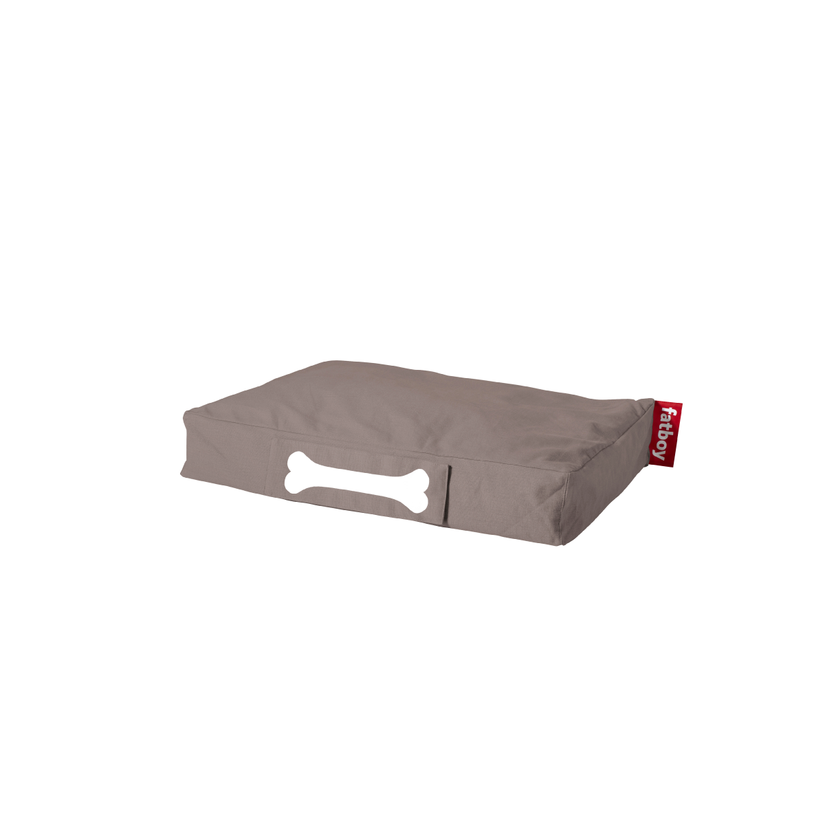 doggie lounge bed stonewashed - small taupe