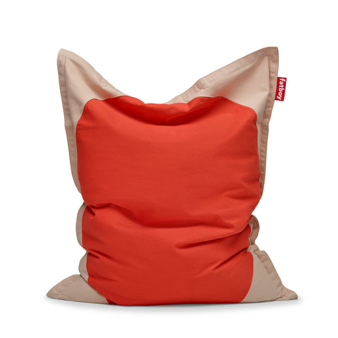original slim pop bean bag poppy