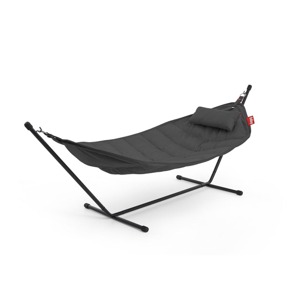 fatboy sunbrella hammock set with pillow anthracite