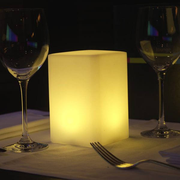 cubic LED table lamp