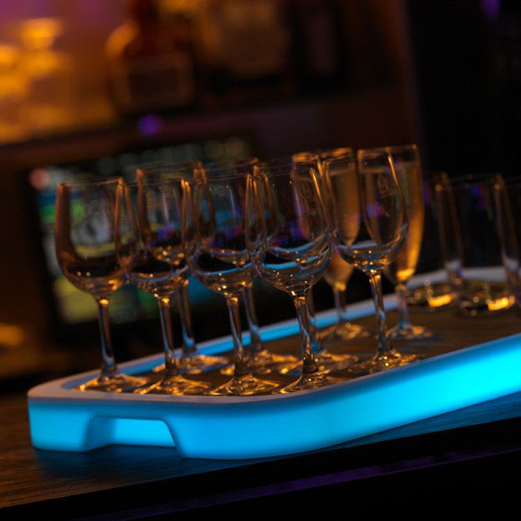 Imagilights Tron LED rectangle serving tray