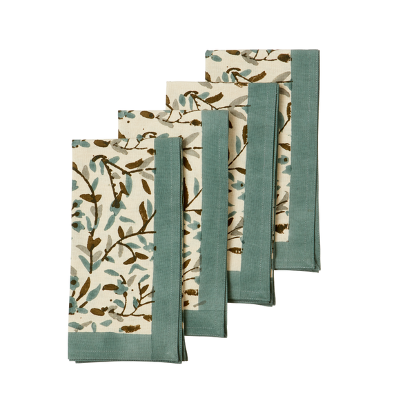 Napkin kollam moss, set of 4