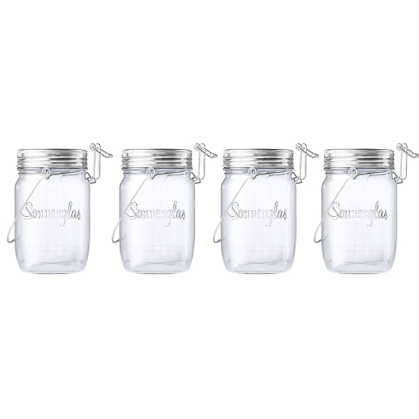 solar jar mini - set of 4