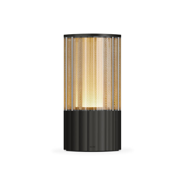 totem: reeded antique bronze