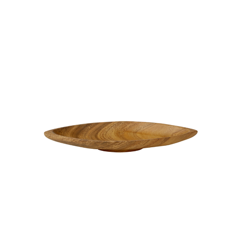 Avadi acacia wood large boat tray