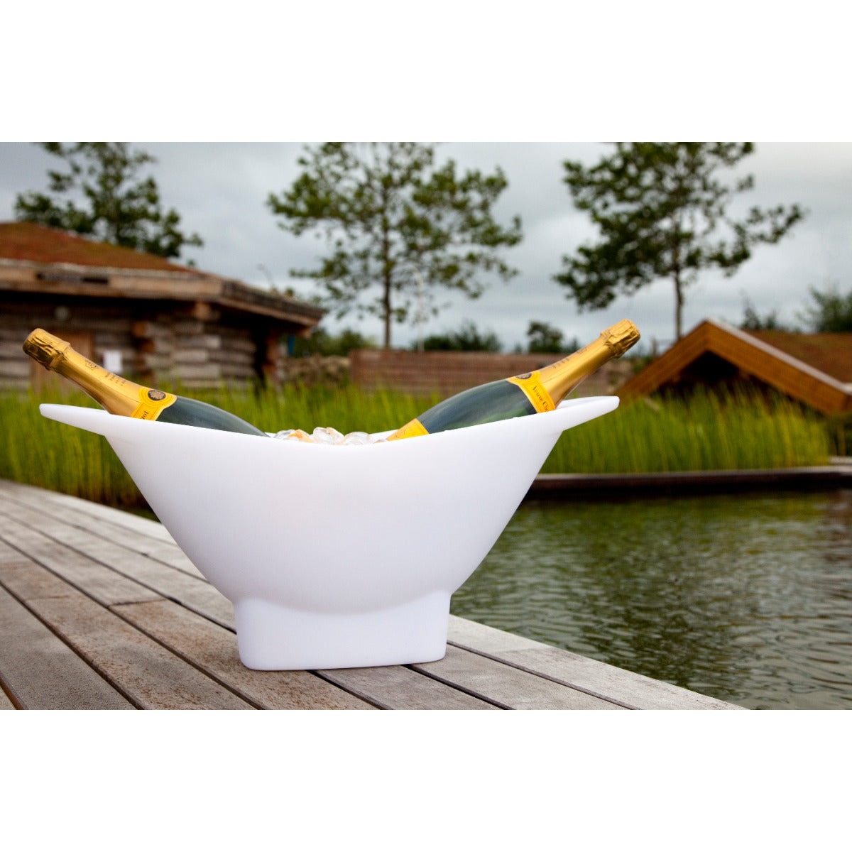 champagne cooler ice bucket