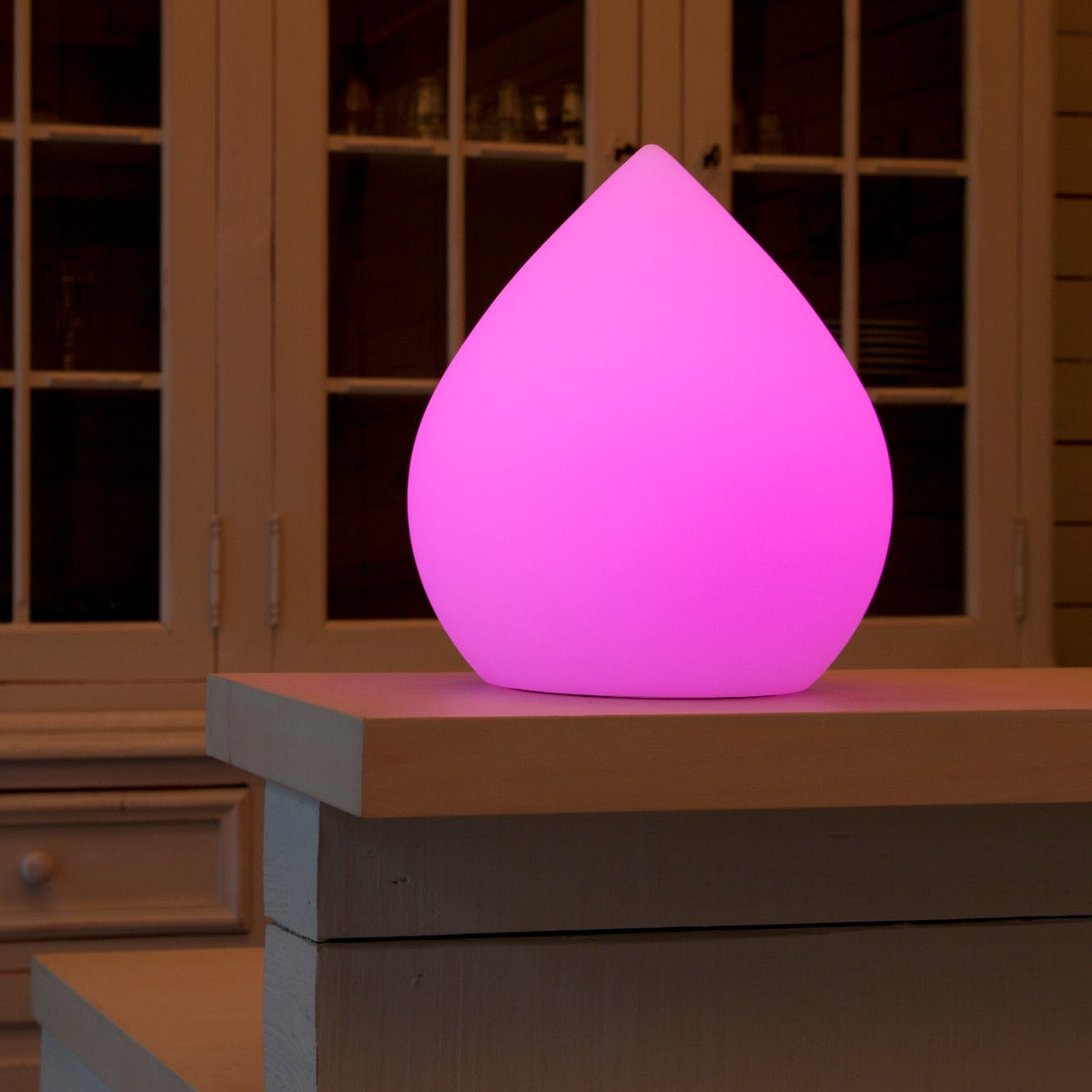 cone table light