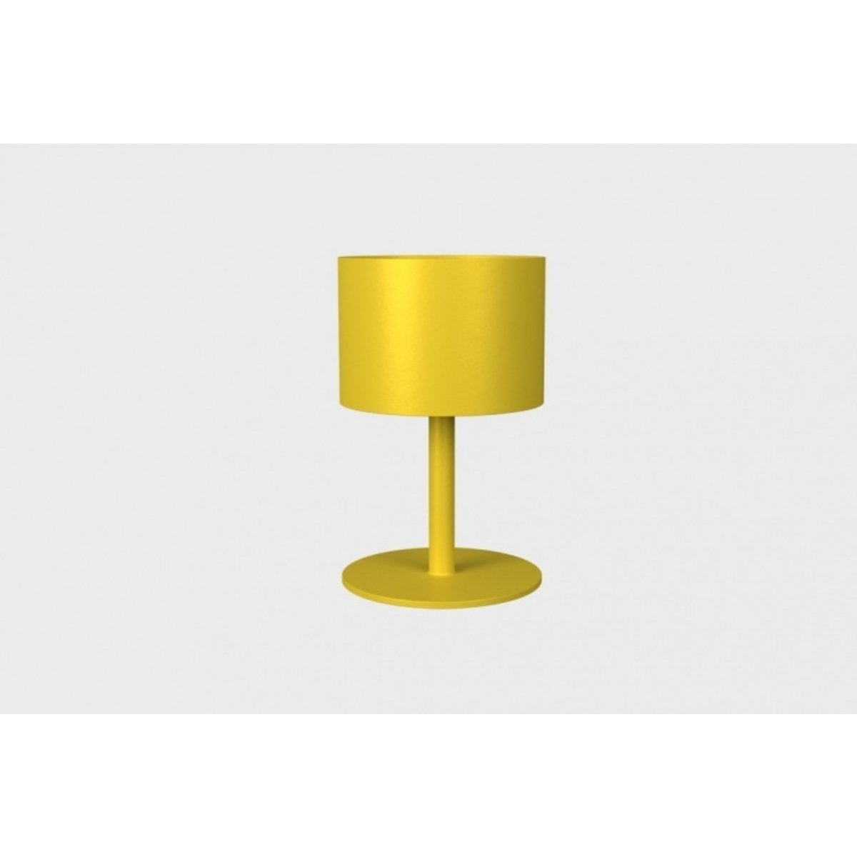 La Lampe Pose 1 Mustard Solar Light