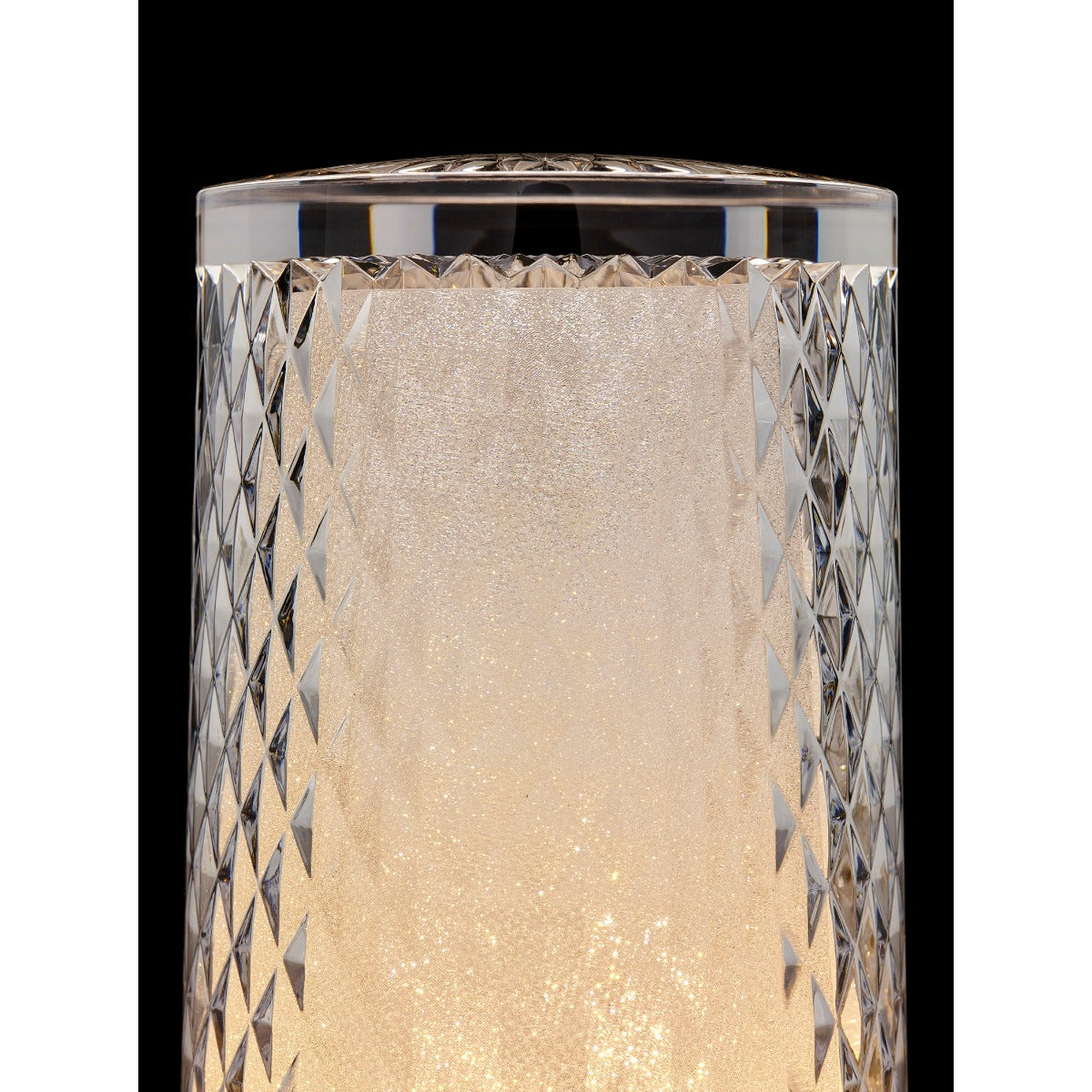 venetian glitter table light