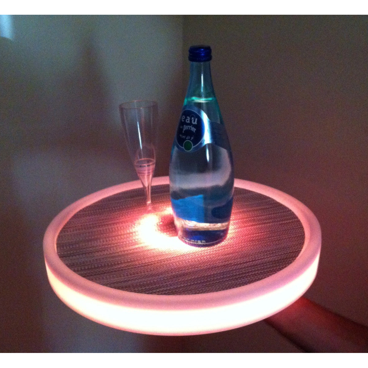 Imagilights Tron LED round serving tray