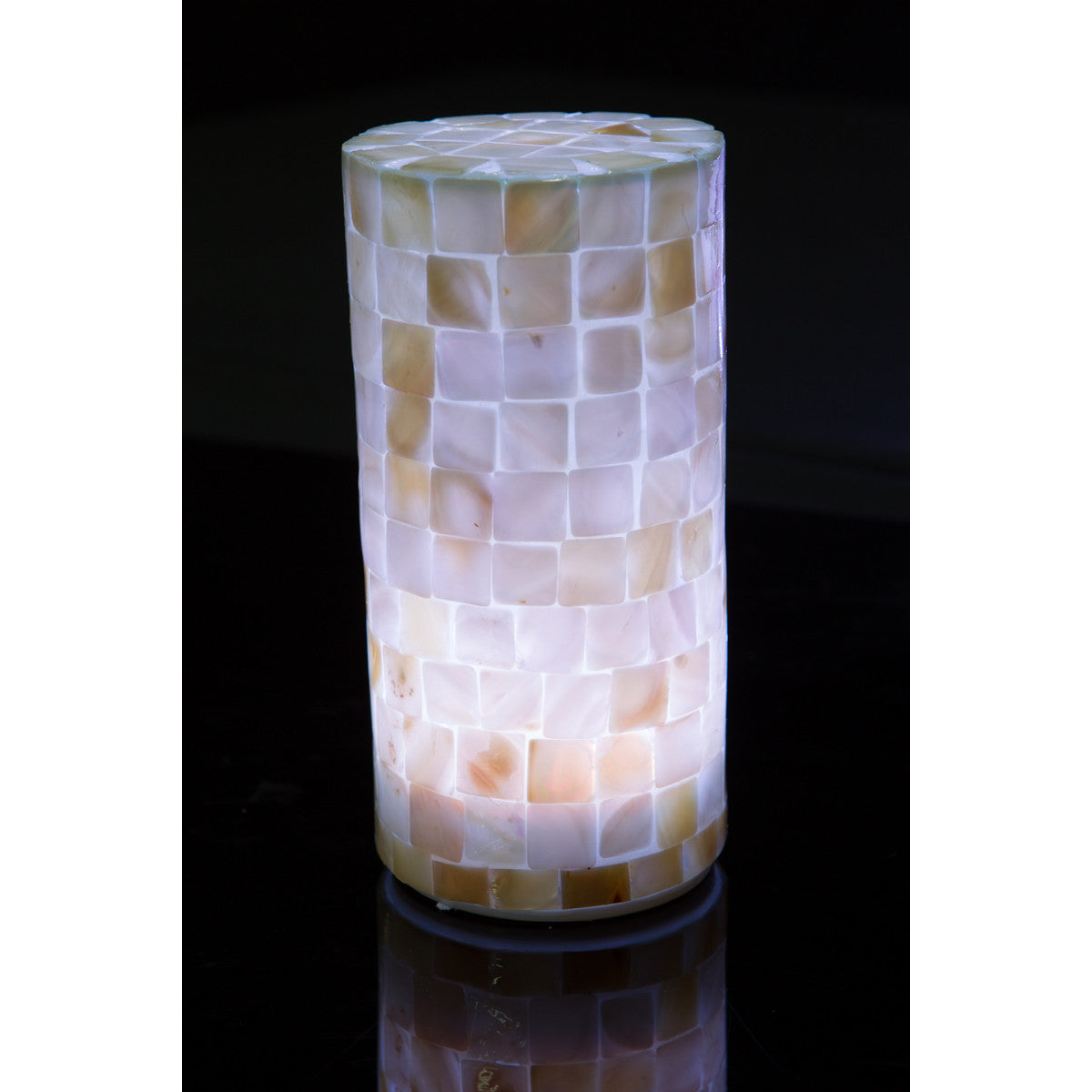 filini mosaic LED table lamp - set of 2