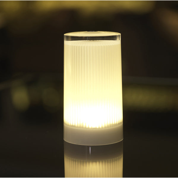 plisee lamp with single charger
