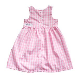 Bonnie Dress - Pink Checkered