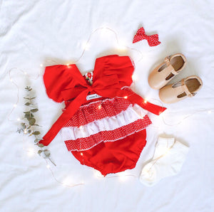 Holly Ruffle Bum Romper