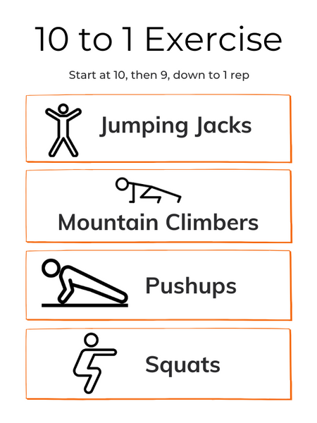 10 to 1 Exercise
