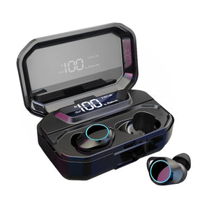 Bluetooth Wireless Waterproof Earbuds with Charging Case