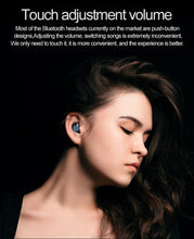 Load image into Gallery viewer, Bluetooth Wireless Waterproof Earbuds with Charging Case