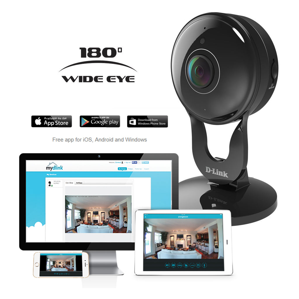 D-Link 1080p Wireless Night Vision Surveillance Camera with Mobile