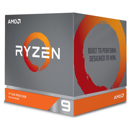 AMD Ryzen 9 3950X (3.5 GHz / 4.7 GHz) - Processeur 16-Core 32-Threads socket AM4 GameCache 70 Mo 7 nm TDP 105W
