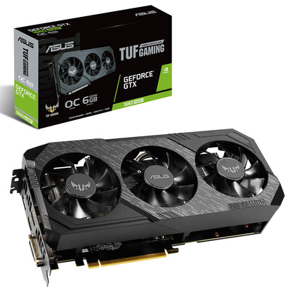 ASUS GeForce GTX 1660 SUPER TUF 3-GTX1660S-O6G-GAMING - 6 Go GDDR6 - DVI/HDMI/DisplayPort - PCI Express (NVIDIA GeForce GTX 1660 SUPER)