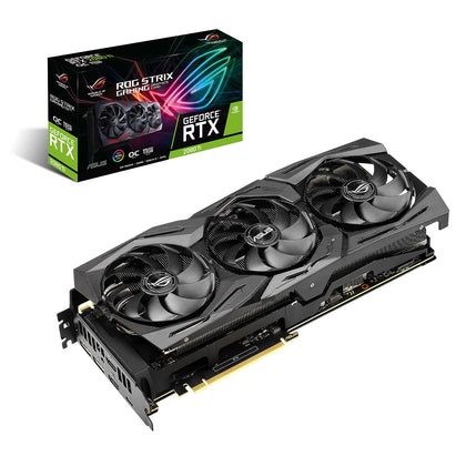 ASUS GeForce RTX 2080 Ti ROG-STRIX-RTX2080TI-O11G-GAMING - 11 Go GDDR6 - HDMI/DisplayPort/USB Type-C - PCI Express (NVIDIA GeForce RTX 2080 Ti)