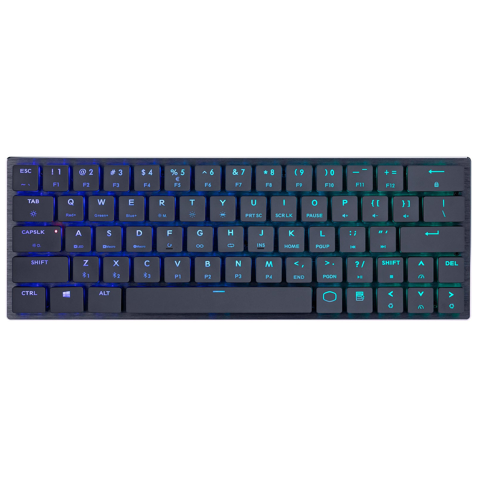 Cooler Master SK621 (Cherry MX RGB LP Red) - Clavier Gaming