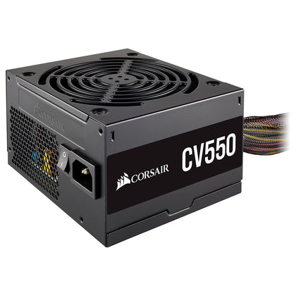 Corsair CV550 80PLUS Bronze - Alimentation ATX 550W ATX12V - 80PLUS Bronze