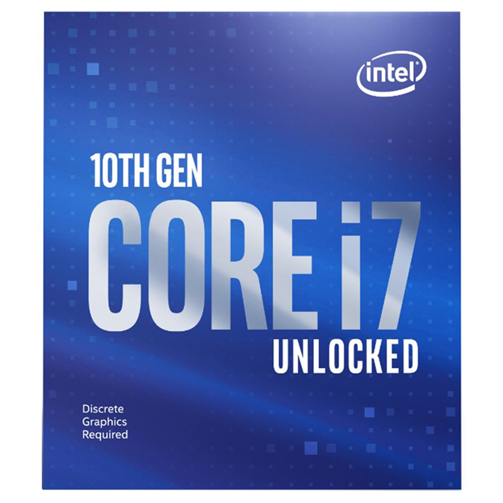 Intel Core i7-10700KF (3.8 GHz / 5.1 GHz) - Processeur 8-Core 16-Threads Socket 1200 Cache L3 16 Mo 0.014 micron