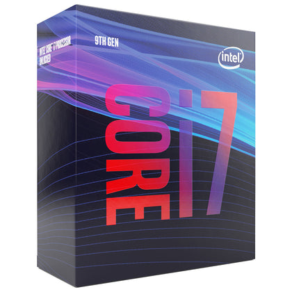 Intel Core i7-9700 (3.0 GHz / 4.7 GHz) - Processeur 8-Core 8-Threads Socket 1151 Cache L3 12 Mo Intel UHD Graphics 630 0.014 micron