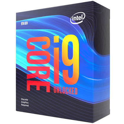 Intel Core i9-9900KF (3.6 GHz / 5.0 GHz) - Processeur 8-Core 16-Threads Socket 1151 Cache L3 16 Mo 0.014 micron