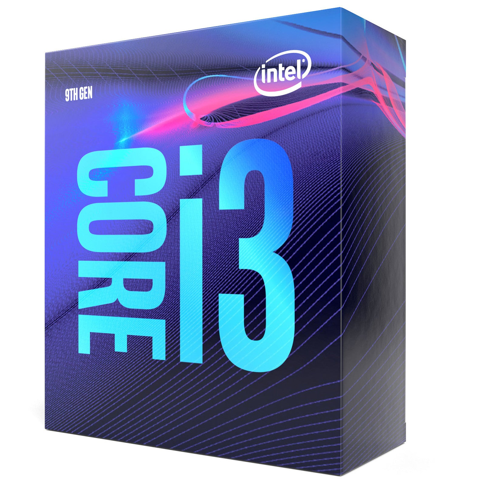 Intel Core i3-9100 (3.6 GHz / 4.2 GHz)