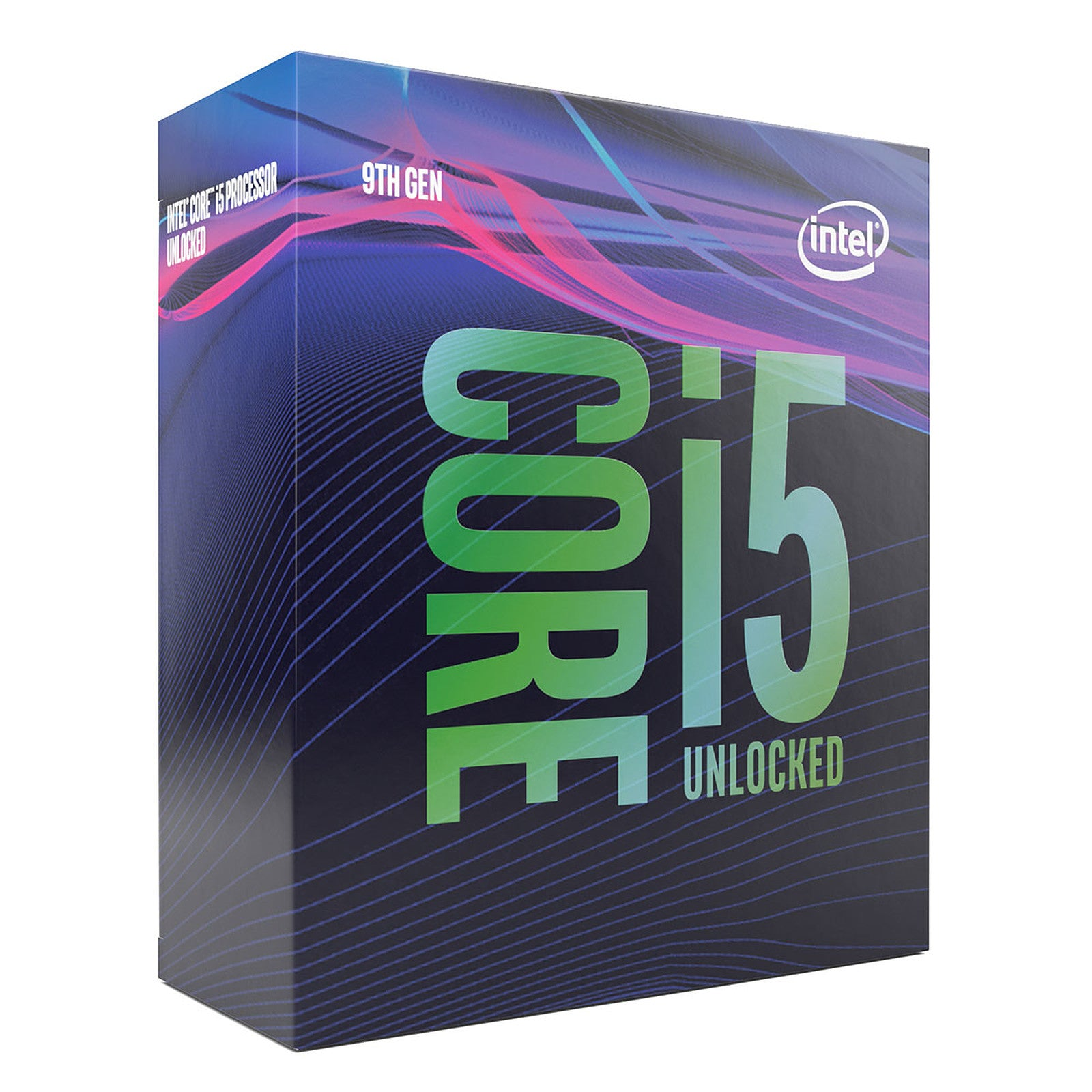 Intel Core i5-9600K (3.7 GHz / 4.6 GHz)